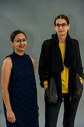 Pictured: <br /> <br /> Roma Agrawal (born March, 1983) MBE is a chartered structural engineer based in London. She has worked on several major engineering projects, including the Shard. She is a Fellow of the Institution of Civil Engineers. Agrawal is also an active diversity campaigner, championing women in engineering. <br /> <br /> Anna Yudina is co-founder and editor-in-chief of MONITOR magazine. She has curated design exhibitions on Zaha Hadid and Jakob + MacFarlane and has written several books on architecture, including Furnitecture and Lumitecture for Thames & Hudson. <br /> <br /> Ger Harley | EEm 11 August 2018
