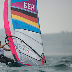 2012 Olympic Games London / Weymouth<br /> RSX man racing day 1 <br /> RS:X MenGERWilhelm Toni