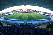 A general view of the stadium prior to the Heineken Champions Cup match between Glasgow Warriors and Cardiff Blues at Scotstoun Stadium, Glasgow, Scotland on 13 January 2019.