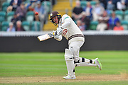 Jason Roy of Surrey batting during the opening day of the Specsavers County Champ Div 1 match between Somerset County Cricket Club and Surrey County Cricket Club at the Cooper Associates County Ground, Taunton, United Kingdom on 18 September 2018.
