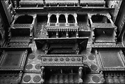 India. Haveli in Jaisalmeer, Rajasthan