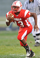 © David Richard.The first Battle of Elyria between the Elyria Catholic Panthers and the host Elyria Pioneers at Ely Stadium on September 9, 2010.