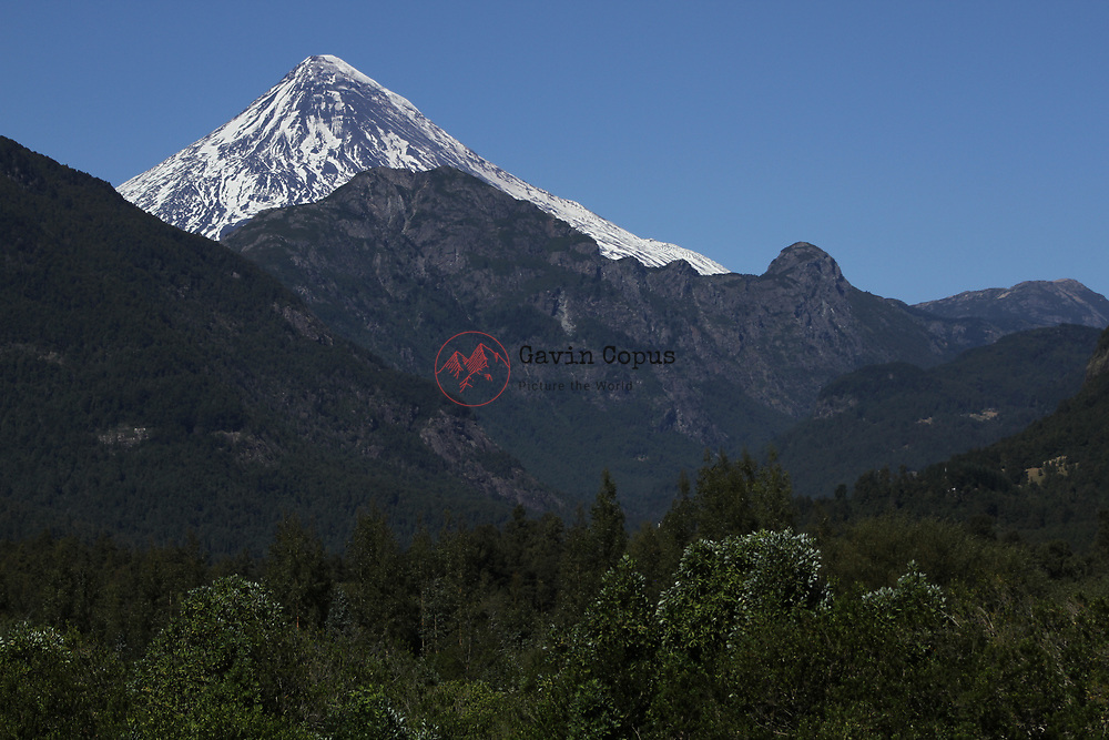 Volcano, Lanin, Chile (on the Argentina Border)  Patagonia