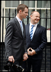 David Cameron's Personal photographer Corporal Tom Robinson (left) inside No<br /> 10 Downing Street, London, United Kingdom, Corporal Tom Robinson has been seconded from the MoD as Mr Cameron's personal photographer at No?10 paid for by the Tax Payer.<br /> Monday, 24th June 2013<br /> Picture by i-Images i-Images / i-Images