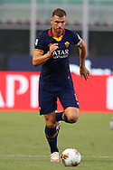 AS Roma's Bosnian striker Edin Dzeko during the Serie A match at Giuseppe Meazza, Milan. Picture date: 28th June 2020. Picture credit should read: Jonathan Moscrop/Sportimage