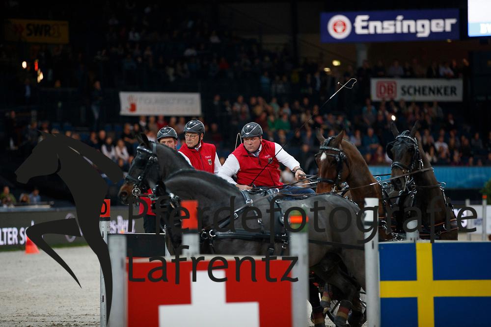Stein, Georg von (GER) <br /> Stuttgart - German Masters 2016<br /> © www.sportfotos-lafrentz.de