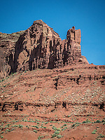 On the road from Capitol Reef National Park to Monument Valley, Arizona