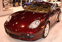 08 February 2007: 2007 Porsche Cayman S. The Chicago Auto Show is a charity event of the Chicago Automobile Trade Association (CATA) and is held annually at McCormick Place in Chicago Illinois.