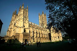 UK ENGLAND CANTERBURY 15OCT05 - Exterior view of Canterbury Cathedral...jre/Photo by Jiri Rezac..© Jiri Rezac 2005.Contact: +44 (0) 7050 110 417.Mobile: +44 (0) 7801 337 683.Office: +44 (0) 20 8968 9635..Email: jiri@jirirezac.com.Web: www.jirirezac.com..© All images Jiri Rezac 2005 - All rights reserved.