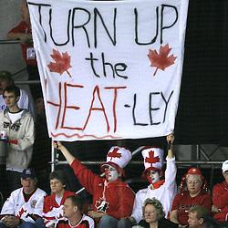 20080512: Ice Hockey - IIHF World Championship,Canada vs Finland, Halifax, Canada
