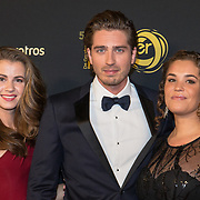 NLD/Amsterdam/20191009 - Uitreiking Gouden Televizier Ring Gala 2019, Annefleur van den Berg, Dorian Bindels, Cecilia Adoree