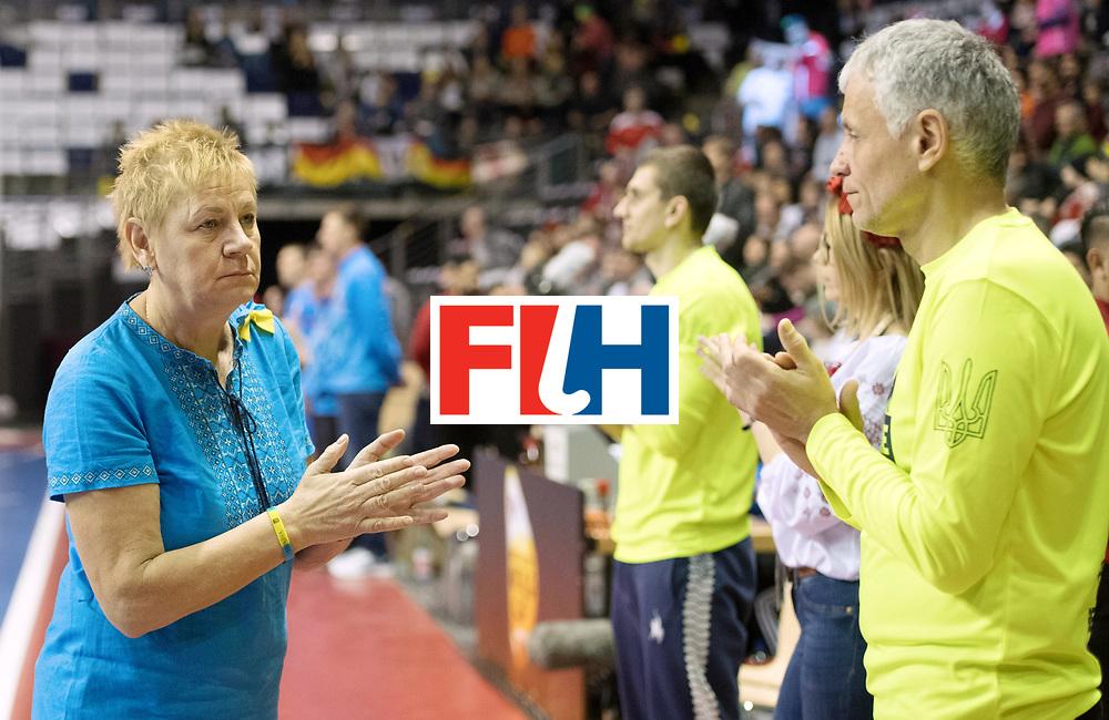 BERLIN - Indoor Hockey World Cup<br /> Bronze: Ukraine - Belarus<br /> foto: MAKAIEVA Svitlana<br /> WORLDSPORTPICS COPYRIGHT FRANK UIJLENBROEK