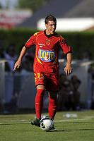 FOOTBALL - FRIENDLY GAMES 2010/2011 - BERRICHONNE CHATEAUROUX v LE MANS UC - 10/07/2010 - JEAN MARIE HERVIO / DPPI - JOFFREY CUFFAUT (MUC)