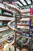 Slide appears in Shopping Mall