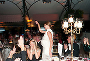 NATALIA VODIANOVA, Evgeny Lebedev and Graydon Carter hosted the Raisa Gorbachev charity Foundation Gala, Stud House, Hampton Court, London. 22 September 2011. <br /> <br />  , -DO NOT ARCHIVE-© Copyright Photograph by Dafydd Jones. 248 Clapham Rd. London SW9 0PZ. Tel 0207 820 0771. www.dafjones.com.