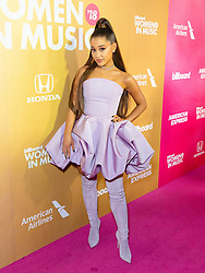 Ariana Grande is seen attending the Billboard's 13th Annual Women in Music event at Pier 36 in New York City. NON-EXCLUSIVE December 6, 2018. 06 Dec 2018 Pictured: Ariana Grande. Photo credit: Nancy Rivera/Bauergriffin.com / MEGA TheMegaAgency.com +1 888 505 6342