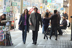 On Location with Television Series Castle Episode Title - The Greater Good #619 Actors - Richard Castle (Nathon Fillion) Kate Beckett (Stanic Katic)