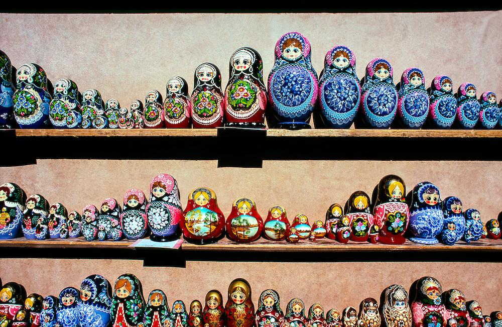 Matrioshka Dolls, Pushkin (16 miles south of St. Petersburg), Russia