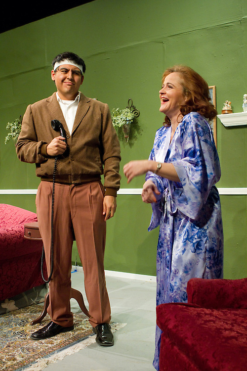 """Dreamweavers Theatre presents Ray Cooney's """"Run For Your Wife,"""" Directed by Anthony DePaolo. Photo © Mike Padua"""