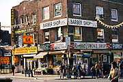 Main St. Flushing, Queens, New York. USA..