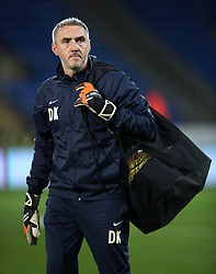 "Preston North End goalkeeping coach Dean Kiely during the Sky Bet Championship match at The Den, London. PRESS ASSOCIATION Photo. Picture date: Friday December 29, 2017. See PA story SOCCER Cardiff. Photo credit should read: Nick Potts/PA Wire. RESTRICTIONS: EDITORIAL USE ONLY No use with unauthorised audio, video, data, fixture lists, club/league logos or ""live"" services. Online in-match use limited to 75 images, no video emulation. No use in betting, games or single club/league/player publications."