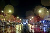 Gilets Jaunes after the protest, Champs Elysee, Paris