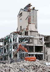 Christchurch-Latimer Hotel Torn Down