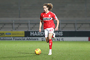 Billal Brahimi of Middlesbrough (47) during the EFL Trophy group stage match between Burton Albion and U21 Middlesbrough at the Pirelli Stadium, Burton upon Trent, England on 7 November 2018.