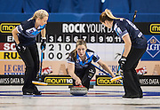 "Glasgow. SCOTLAND.  Scotland"", Lauren GRAY, releasing the ""Stone"" during  the ""Round Robin"" Game.  Scotland vs Russia,  Le Gruyère European Curling Championships. 2016 Venue, Braehead  Scotland<br /> Thursday  24/11/2016<br /> <br /> [Mandatory Credit; Peter Spurrier/Intersport-images]"