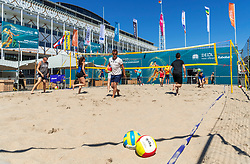 15-07-2018 NED: CEV DELA Beach Volleyball European Championship day 1<br /> Side events during EC Beach Volleyball Tournament