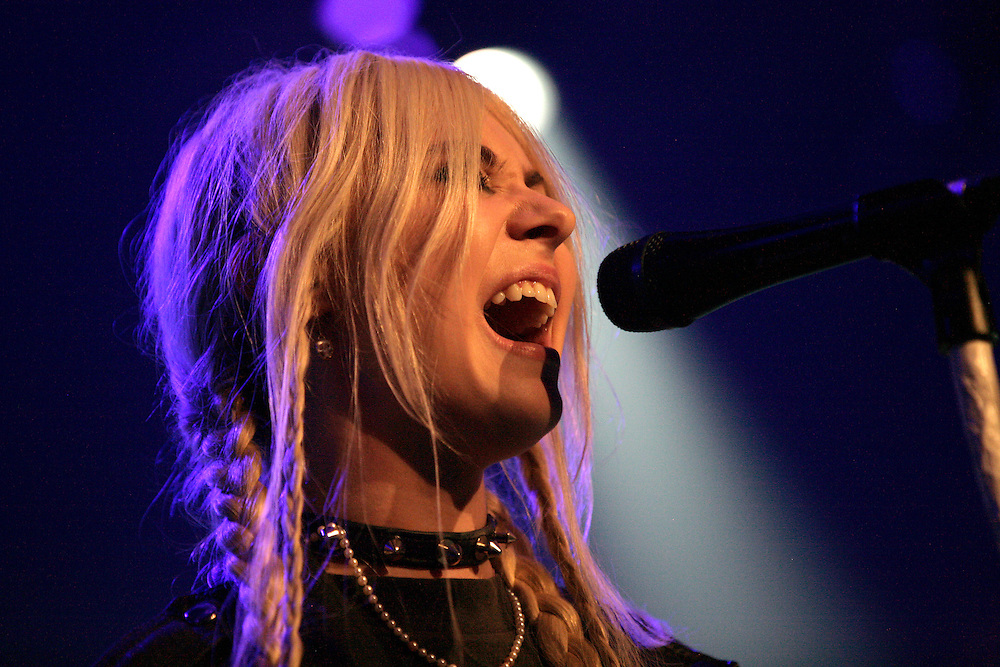 The Pretty Reckless - Taylor Momsen performing at the 45th Montreux Jazz Festival, Switzerland.