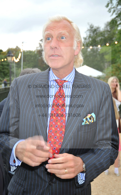 TODD RUPERT at the unveiling of 'Isis' a sculpture by Simon Gudgeon hosted by the Royal Parks Foundation and the Halcyon Gallery by the banks of The Serpentine, Hyde Park, London on 7th September 2009.