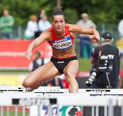 28-05-2011 ATLETIEK: HYPO MEETING 2011: GOTZIS<br />  Yvonne Van Langen (NED), Heptathlon - 100m Hurdles Women<br /> ***NETHERLANDS ONLY***<br /> ©2011-FotoHoogendoorn.nl/EXPA/P.Rinderer