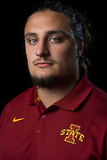 DALLAS, TX - JULY 22:  Iowa State offensive lineman Tom Farniok poses for a portrait during the Big 12 Media Day on July 22, 2014 at the Omni Hotel in Dallas, Texas.  (Photo by Cooper Neill/Getty Images) *** Local Caption *** Tom Farniok