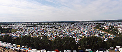 07.08.2010, Wacken Open Air 2010, Wacken, GER, 3.Tag beim 21.Heavy Metal Festival Campingzelte bis zum Horizont, EXPA Pictures © 2010, PhotoCredit: EXPA/ nph/  Kohring+++++ ATTENTION - OUT OF GER +++++ / SPORTIDA PHOTO AGENCY