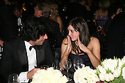 CHARLES ALBERT GIRAL AND LUCY FAITH, The 2007 Cartier Racing Awards. Four Seasonss Hotel. London. 14 November 2007. -DO NOT ARCHIVE-© Copyright Photograph by Dafydd Jones. 248 Clapham Rd. London SW9 0PZ. Tel 0207 820 0771. www.dafjones.com.