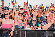 Pilton, Somerset, UK. 29th June 2019. Fans watch as Lewis Capaldi plays the Other Stage - The 2019 Glastonbury Festival, Worthy Farm, Glastonbury.