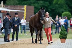 Petersen Malin (SWE) - Sofarsogood<br /> Horse Inspection <br /> CCI4*  Luhmuhlen 2014 <br /> © Hippo Foto - Jon Stroud