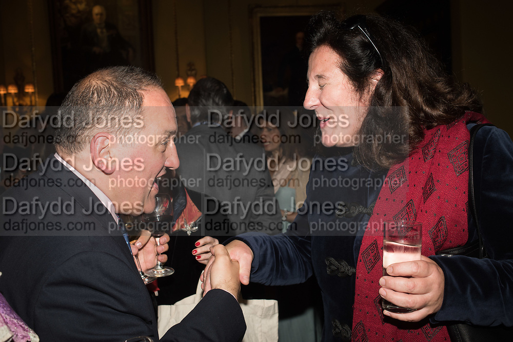 TONY LOMBARD; Her Royal Highness Katarina The Princess of Yugoslavia and Serbia, Launch hosted by Quartet books  of Madam, Where Are Your Mangoes? by Sir Desmond de Silva at The Carlton Club. London. 27 September 2017.