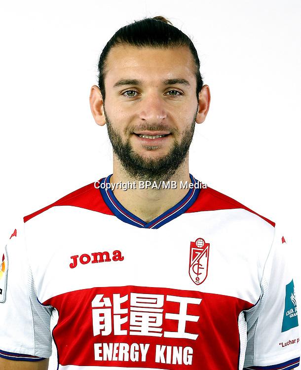 Spain - La Liga Santander 2016-2017 / <br /> ( Granada C.F. ) - <br /> Gaston Alexis Silva Perdomo &quot; Gaston Silva &quot;