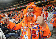 CAPE TOWN, SOUTH AFRICA- Thursday 24 June 2010, Dutch supporter Graat Hindrichs during the match between the Netherlands (Holland) and Cameroon held at the new Cape Town Stadium in Green Point during the 2010 FIFA World Cup..Photo by Roger Sedres/Image SA