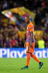 Fernandinho of Manchester City cuts a dejected figure - Mandatory by-line: Dougie Allward/JMP - 19/10/2016 - FOOTBALL - Camp Nou - Barcelona, Catalonia - FC Barcelona v Manchester City - UEFA Champions League