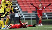 Fotball<br /> Norge<br /> 14.10.2012<br /> Foto: Morten Olsen, Digitalsport<br /> <br /> Toppserien kvinner<br /> Røa v Lillestrøm FK 1:2<br /> <br /> Madeleine Giske - Røa<br /> Roper på straffespark i sluttminuttene