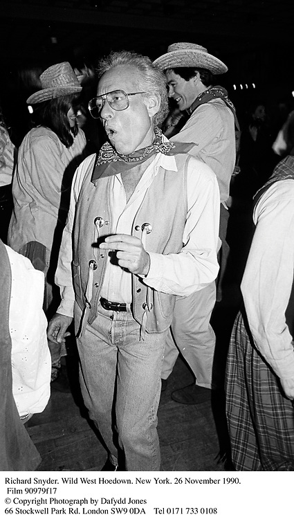 Richard Snyder. Wild West Hoedown. New York. 26 November 1990. Film 90979f17<br />