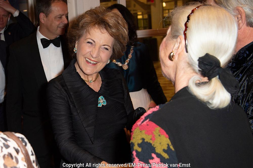 22ste editie van het Nederlands Balletgala van Stichting Dansersfonds '79 in het Nationale Opera & Ballet. Het in 1979 door Alexandra Radius en Han Ebbelaar opgerichte fonds viert dit jaar zijn veertigjarig jubileum. <br /> <br /> Op de foto:  prinses Margriet