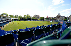 View inside the Recreation Ground prior to kick off. - Photo mandatory by-line: Alex James/JMP - Mobile: 07966 386802 - 23/05/2015 - SPORT - Rugby - Bath - Recreation Ground - Bath v Leicester Tigers - Aviva Premiership Rugby semi-final
