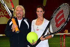 FEB 26 2013 Laura Robson is face of Virgin Active's Junior Tennis Academy