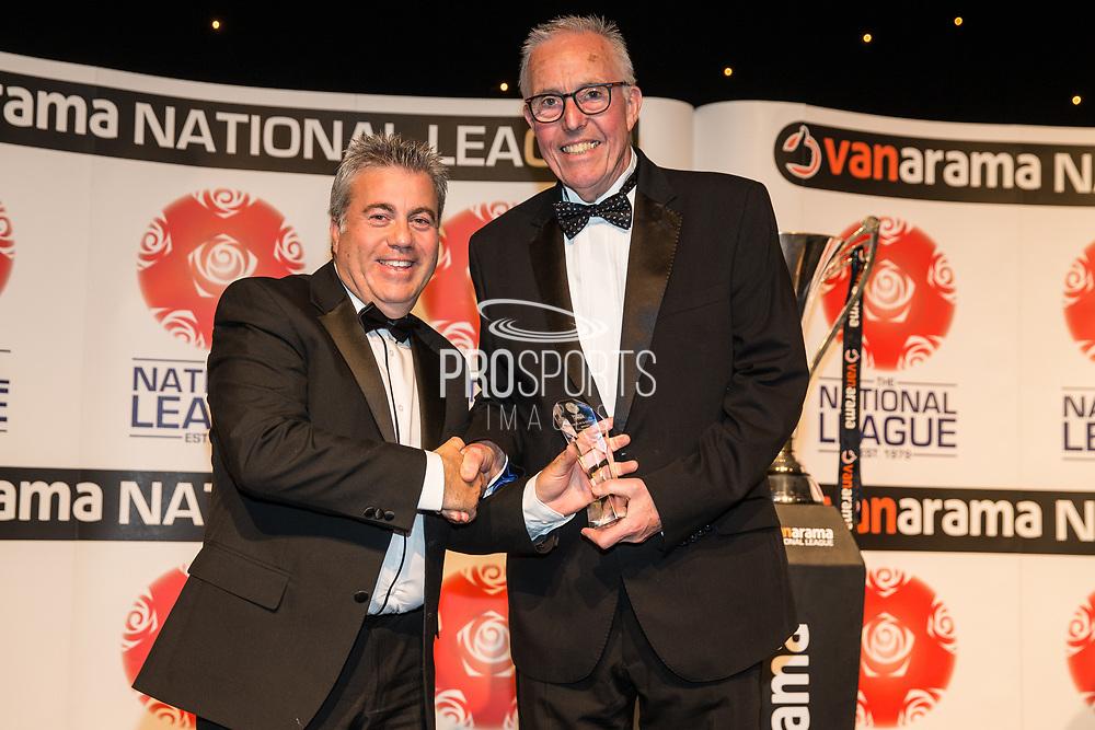National League Respect and Fair Play Awards, NL Dagenham and Redbridge during the National League Gala Awards at Celtic Manor Resort, Newport, United Kingdom on 8 June 2019.