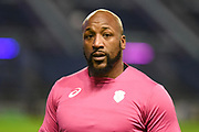 Bakary Meite ahead of the European Rugby Challenge Cup match between Edinburgh Rugby and Stade Francais at Murrayfield Stadium, Edinburgh, Scotland on 12 January 2018. Photo by Kevin Murray.