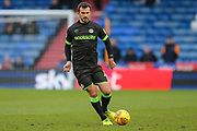 Forest Green Rovers Gavin Gunning(16) runs forward during the EFL Sky Bet League 2 match between Oldham Athletic and Forest Green Rovers at Boundary Park, Oldham, England on 12 January 2019.